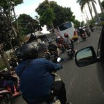 Traffic in Bali is....CRAZY!!!