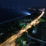 Night view from balcony !