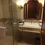 bathroom sink shower