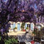 La maison de Justine au printemps