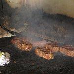 The grill at El Chango