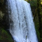 Silver Falls State Park, Oregon - One of the falls you can walk behind.