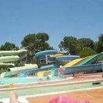 Brilliant water slides