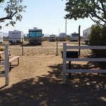 The tent sites