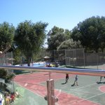 Football/tennis courts