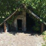Buried house