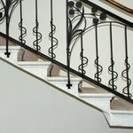 Architektur-Details: Z.B. filigrane Stufen