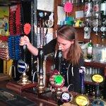 Delightful bar staff