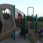 Part of the playground area