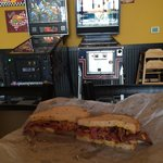 Pastrami and pinball. Can not lose.