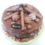 no words can explain this super delicious nuetlla cake