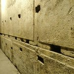 Megaliths forming the northern part of the Western Wall