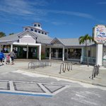 This is the Front of Palm Pavilion Restaurant and Gift Shop