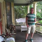 Chillin' on the front porch...