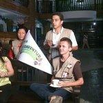 Recibimiento a la Eco-aventura Cafetera 2014