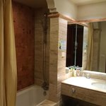 Bathroom with joint tub and shower