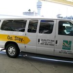 FREE shuttle van from airport