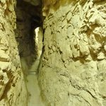Canaanite tunnel near entrance to Hezekiah's tunnel