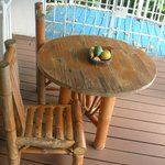 Charming babmoo table and chairs