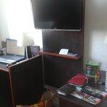 Le bureau et la tv