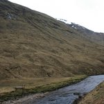 Suspended trolley to move sheep across the river at Glencoe