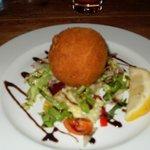 Salmon Scotch Egg - Starter