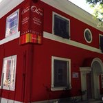 Restaurant Olan, local ubicado en Condell #200, providencia.