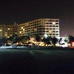 Kveldstur på stranden.