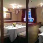 Private booth in the Dining room