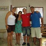 Con Olga y Jesús