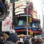 times square- ABC studios- good morning america