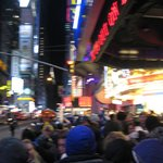 the ball drop at new years eve in times square-
