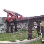 Another cannon at the fort
