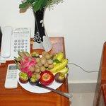 corbeille de fruits gratuit tous les jours