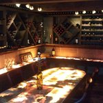 The underground wine room. Great for private events!