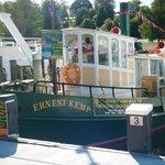 Ernest Kemp cruising