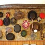 Colecção de chapéus