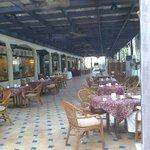 restaurant extérieur climatisé