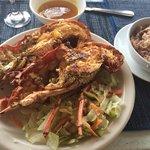 O prato: deliciosas lagostas
