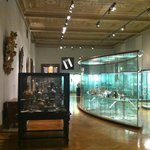 One of the main halls with displays for glass and porcelain