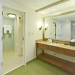 Guest bath in suite