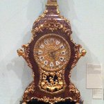 Neo Rococo Boulle clock from Lemberk chateau, around 1850