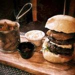 A scrumptious Double Beef Burger