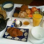 Room service - breakfast