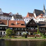 Our guest house is located on the bank of river Vltava