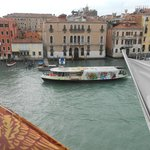 View from breakfast over the Grand Canal