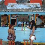It is what it is bar (BEST BAR in town) outside resort