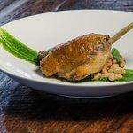 Duck Confit with white bean cassoulet