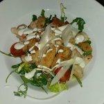 Chicken Caesar Salad got as a starter