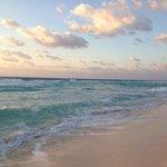 ocean, early morning